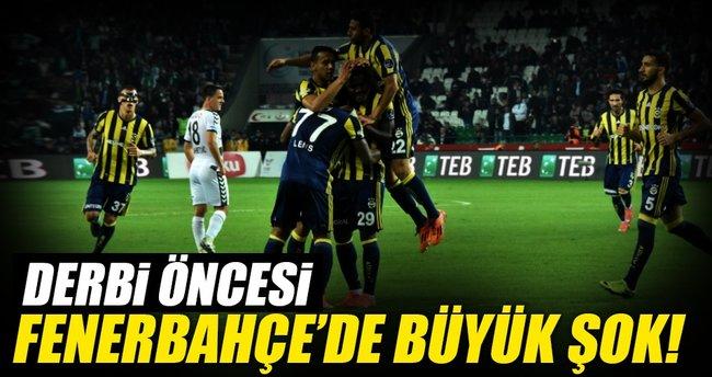Derbi öncesi Fenerbahçe'de büyük şok!
