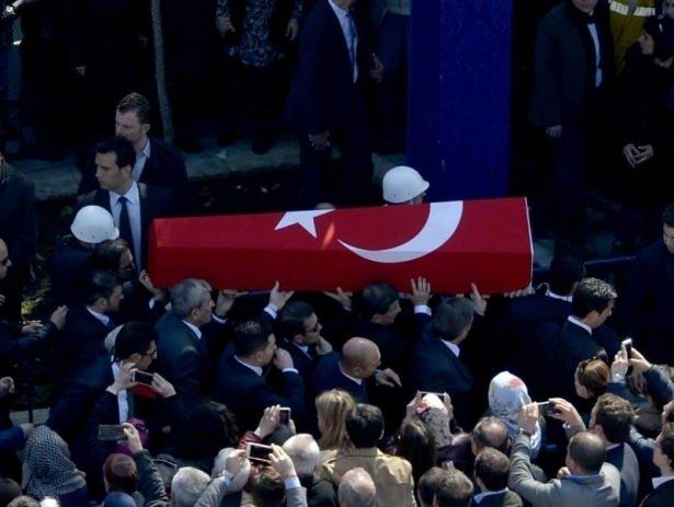Türkiye şehit savcısına böyle veda etti