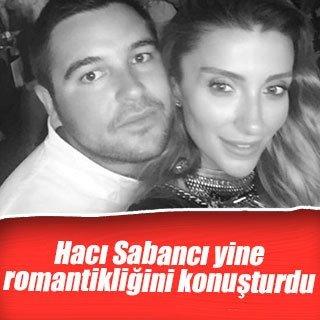Hacı Sabancı'dan Özge Ulusoy'a romantik jest