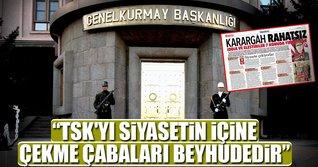 Bakan Fikri Işık: TSK'yı siyasetin içine çekme çabaları beyhudedir