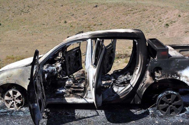 PKK'lı teröristler şantiye bastı