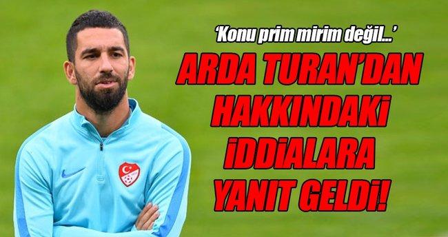 Arda Turan'dan açıklama geldi!
