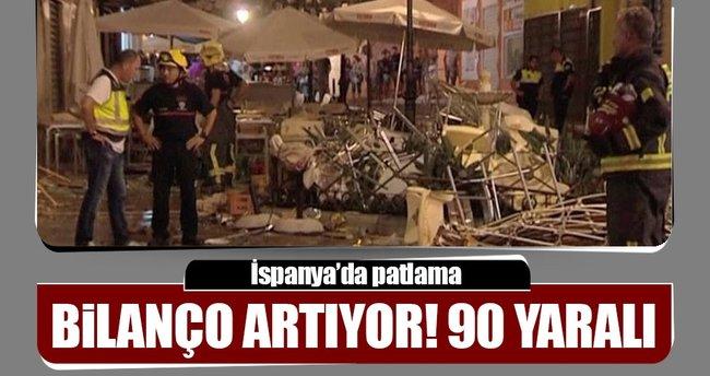İspanya'da patlama 90 yaralı!