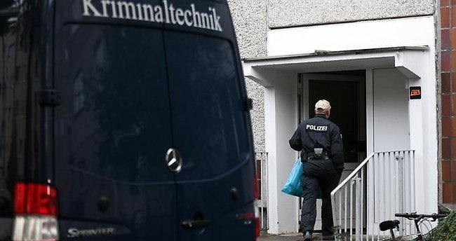 Almanya'da terörle mücadele operasyonu