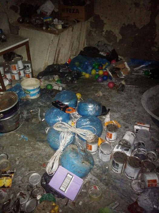 Şırnak'ta PKK'lıların erzak ve ilaç deposu patlatıldı!