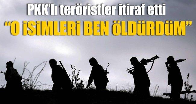 PKK'lı teröristten HÜDA PAR itirafı