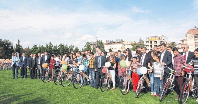 Bisiklet seferberliği başladı