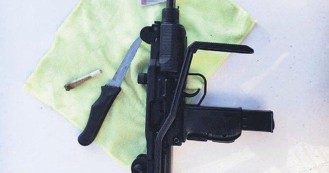 'Çakma Uzi'li soygunu Güven Timleri önledi