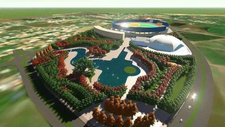 Van'a yeni stadyum