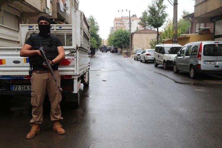 Diyarbakır'da DAEŞ operasyonu
