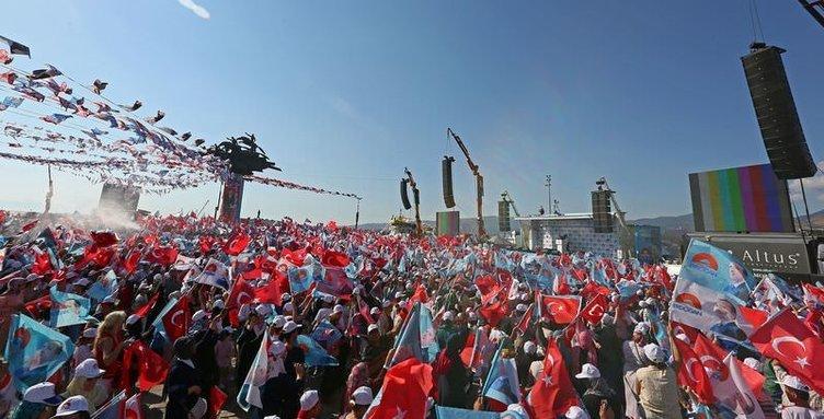 Başbakan Erdoğan İzmir'de şov yaptı