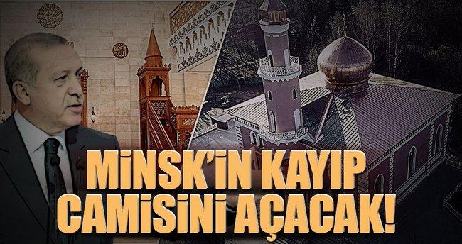 Minsk'in kayıp camisini açacak