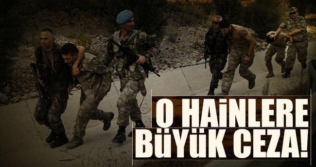 Suikastçı 47 haine 6'şar kez müebbet