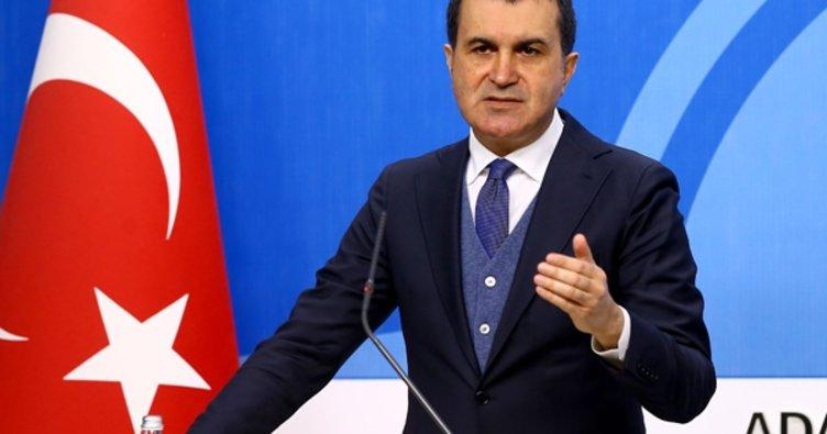 AB Bakanı Ömer Çelik'in demeçleri derlendi