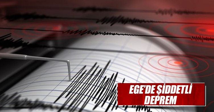 Son dakika! Ege'de korkutan deprem...