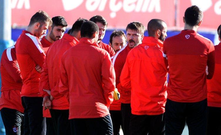 Trabzonspor idmanında Kaptan Onur fırtınası