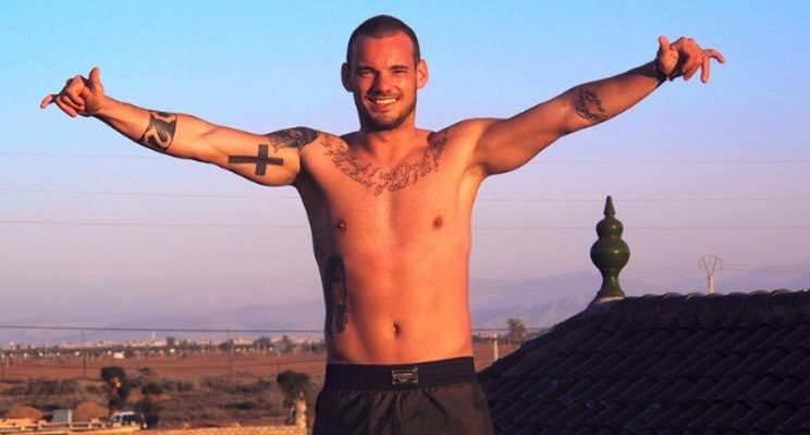 Sneijder'in dövme tutkusu