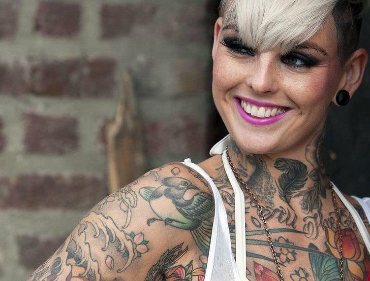 Dövme çılgınları Lonra'da buluştu