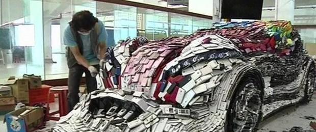25 bin cep telefon ile otomobil yaptı