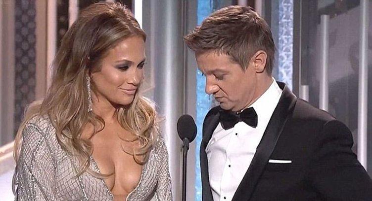 Jennifer Lopez'e takıldı: Senin de iki küren varmış