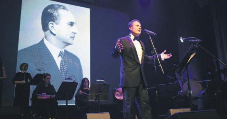 Münir Nurettin için anma konseri