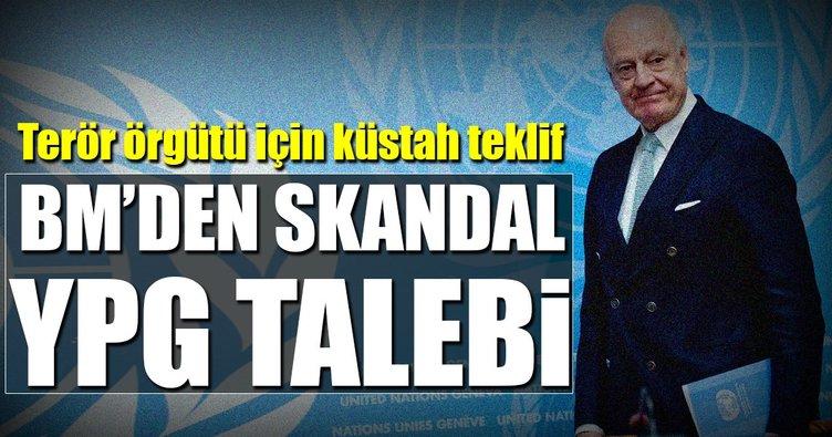 BM'den skandal YPG talebi
