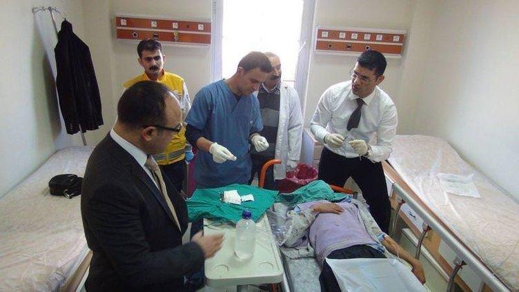 Mardin'de öğrenci servisi ile tır çarpıştı