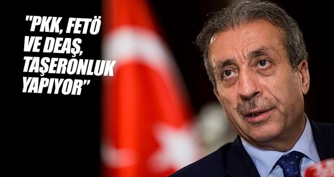 PKK, FETÖ ve DEAŞ, taşeronluk yapıyor