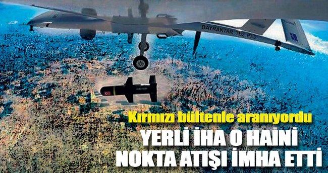 PKK'lı hainleri yerli İHA vurdu