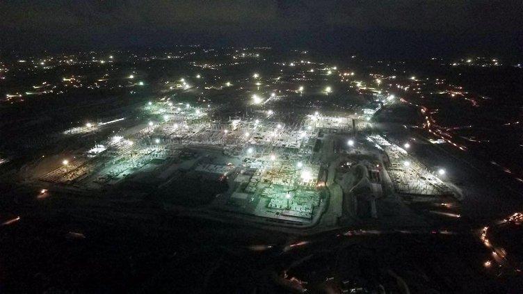 3. Havalimanı inşaatı bayramda da devam ediyor