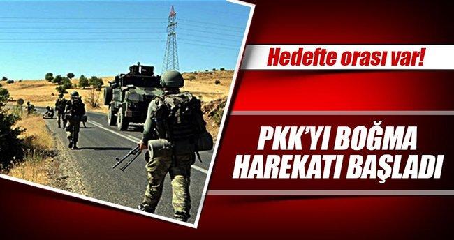 PKK'yı boğma harekatı: Hedefte orası var!
