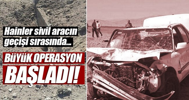 Muş'ta iki asker yaralandı