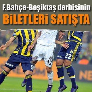 Fenerbahçe-Beşiktaş derbisinin biletleri satışta