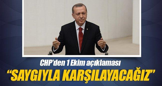 CHP Meclis'te Cumhurbaşkanı'nı karşılayacak