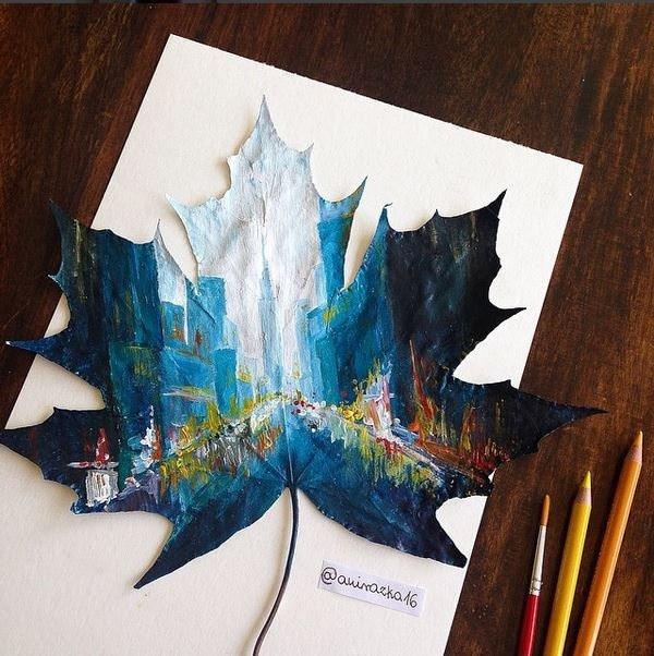 Düşmüş Yapraklaradan Güzel Sanatlar