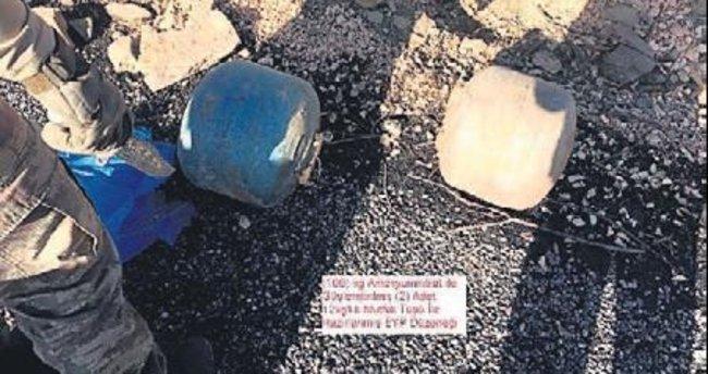 Bombalı tuzak imha edildi