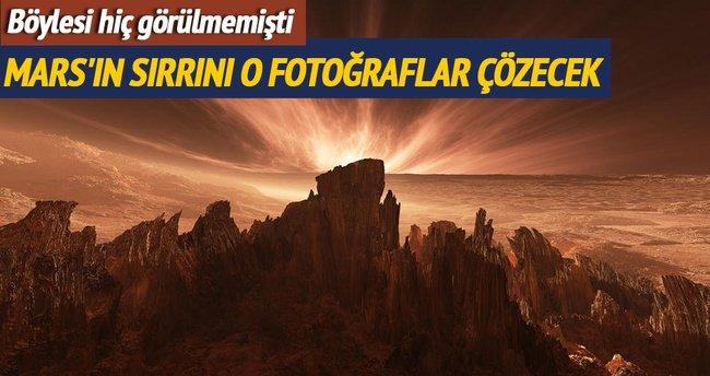 Mars'tan en net kareler