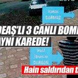 3 canlı bomba aynı karede!