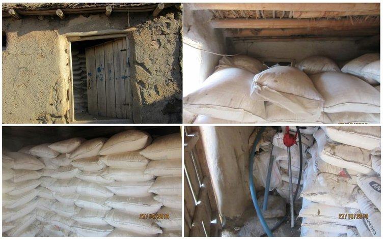 157 ton amonyum nitrat ele geçirildi!