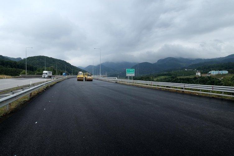 Bolu Dağı Tüneli trafiğe açılıyor