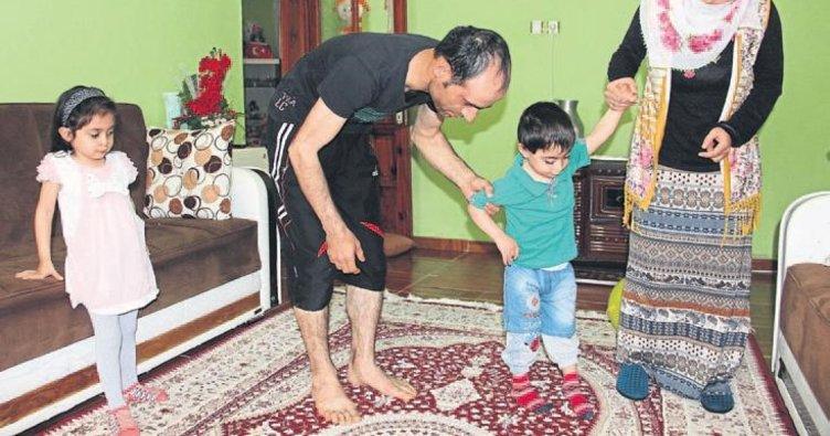 Zahir'in yürümesi 25 bin liraya bağlı