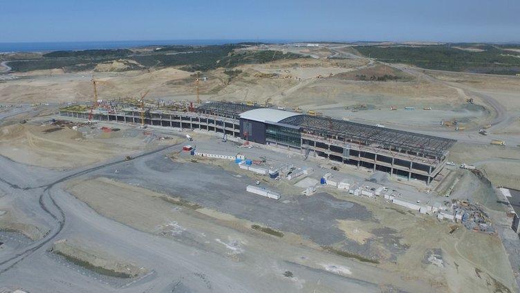 3. havalimanının ilk yolcu salonu tamamlandı