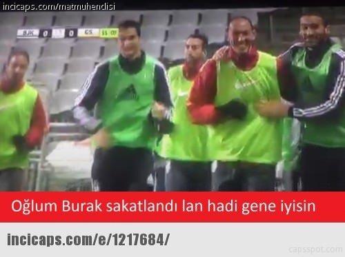 Beşiktaş-Galatasaray maçının Capsleri
