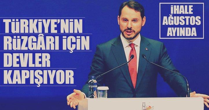 Türkiye'nin rüzgârı için devler kapışıyor