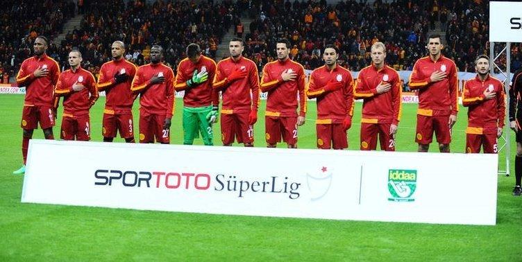 Galatasaray - Bursaspor maçından kareler