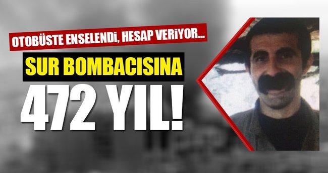 Sur bombacısına 472 yıl...
