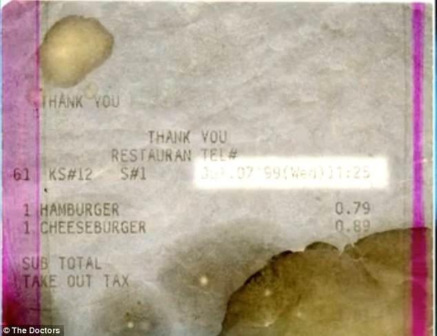 Hamburger 14 yıl boyunca çürümedi