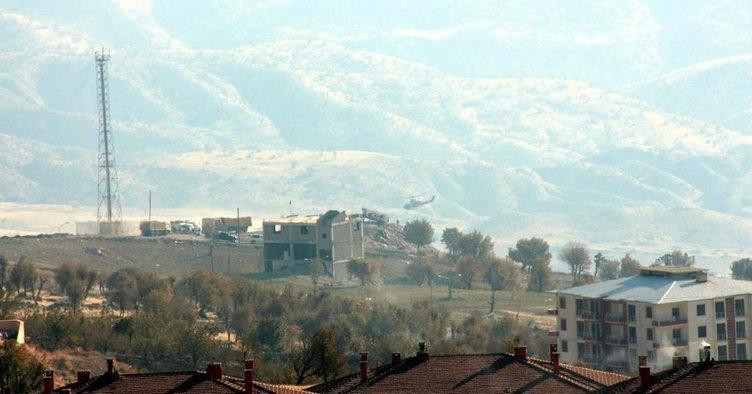 Cudi Dağı'nda hava destekli PKK operasyonu