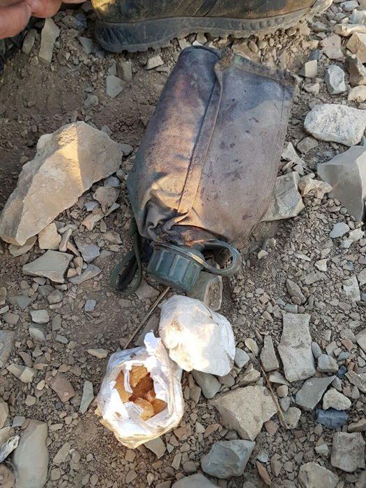 Çukurca'da PKK operasyonunda ele geçirilen mühimmat