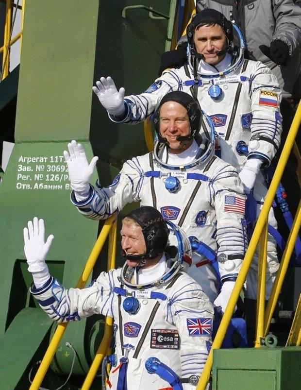 Uzaydan yeni yıl mesajı